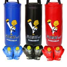 Youth Boxing Set, Gloves, UnFilled Punching Bag - Kids Fitness Training Gear