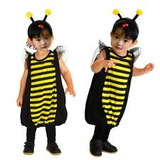 Kids Child Costume Bumblebee Cosplay Honey Bee Carnival Party Fancy Dress Outfit