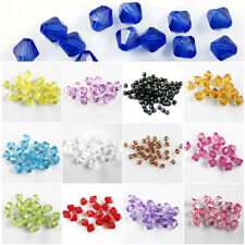 Wholesale Crystal Glass Faceted Rondelle Loose Spacer Beads 6mm 100pcs