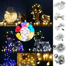 1M-10M LED Bulb Balls String Fairy Light Christmas Home Decor Bulbs Lamp Battery