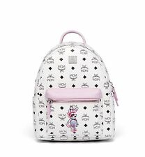 MCM Mohican Rabbit Backpack in Monogrammed Coated Canvas / 1 for 2 Colors
