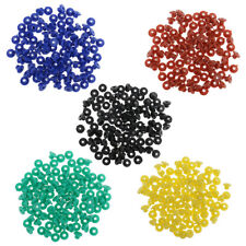 100PCS Assorted Tattoo Rubber Grommet Nipples For Needles Machine Supply