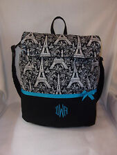 Eiffel tower Paris toile back pack school book bag several cholor choices