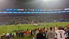 CAROLINA PANTHERS VS GREEN BAY PACKERS - LOWER LEVEL- SECTION 114 ROW 11 - $900