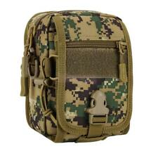 Waterproof Military Tactical Molle Utility Waist Pack Pouch Shoulder Sling Bag