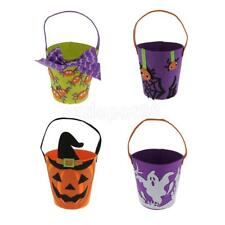 Funny Felt Fabric Halloween Treat Loot Bag Kids Candy Gift Bag Party Favors