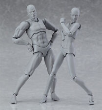 figma archetype next he/she grey color ver. PVC Action figure 135mm body toys