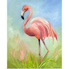 Poster Print Wall Art entitled Flamingo Great Pink Heron
