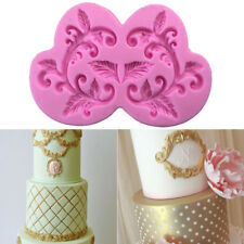 3D Lace Silicone Fondant Mold Cake Decorating Chocolate Sugarcraft Mould Tool