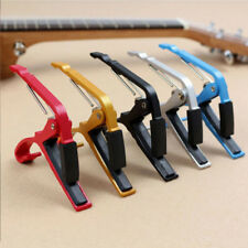 New Pro Quick Change Tune Clamp Key Trigger Guitar Capo For Acoustic Electric