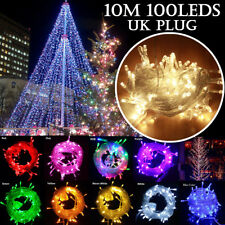 220V 10M 100LEDs LED String Light Home Christmas Waterproof Fairy Lights Strip