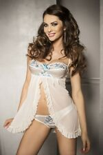 Negligee Angel with Thong Tanga Cute Nightwear Sexy lingerie Babydoll Erotic