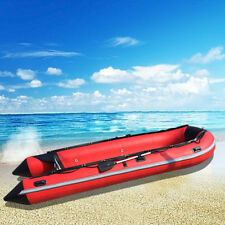 1.2 mm 9.8' PVC thermobonding Inflatable Boat Rafting Fishing Dinghy Tender boat
