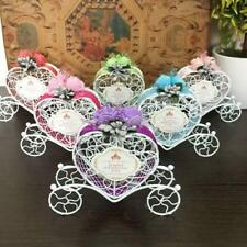 6pcs Love Heart Carriage Sweets Chocolate Candy Box Party Favor Gift Boxes