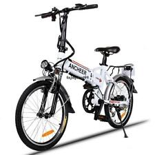 New 14/26'' 27 Speed Folding Electric Mountain Bike with Suspension Fork 35km/h