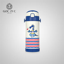 GOC IN C Thermos Mug Baby Bottle Stainless Steel Children Vacuum Insulation Cup