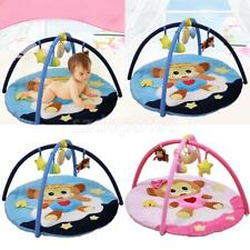 Baby Fitness Frame With Music Rattle Infant Activity Play Mat Educational Toys