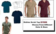 Dickies Scrub 81906 EDS Signature Men's V-Neck Top Choose Color & Size - NWT