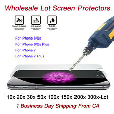 Wholesale 9H Tempered Glass Screen Protector HD Clear Film For iPhone 7/7 Plus/X