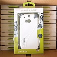 Wholesale Lot 10 20 50 100 HTC One M8 - White Shockproof Hybrid Cell Phone Cases