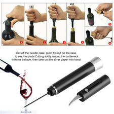 Useful Wine Opener Air Pressure Popper Bottle Pumps Corkscrew Cork Out Tool New