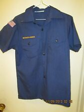 BSA/Boy, Cub Scout Navy Blue Shirt, Short Sleeve Youth/Boys - 8