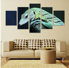 Animal lizard Modern Painting Canvas Abstract Picture Poster Wall Art Home Decor