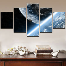 Universe Earth Planet Picture Modern Abstract Canvas Prints Wall Art Home Decor