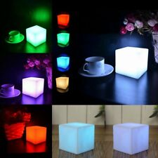 LED Color Changing Mood Cube Night Glow Lamp Light Home Party Decoration US SHIP