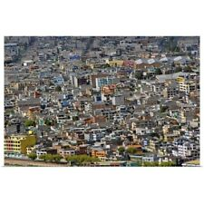 Poster Print Wall Art entitled Quito, Ecuador, South America.