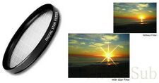 Star 6 Point Filter Dynamic Cross Flare-- 52mm 55mm 62mm 72mm 77mm Mulite Size