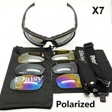 DAISY X7 Tactical Goggles 4LS Men Military Polarized Sunglasses Outdoor Men Airs