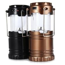 6 LED Hand Lamp Collapsible Solar Camping Lantern Tent Lights