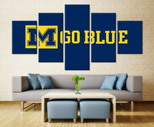 Michigan Wolverines Sports Art Wall Painting Modern Canvas Poster Home Decor