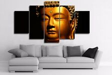 Golden Buddha Modern Art Wall Picture Abstract Canvas Poster Painting Home Decor