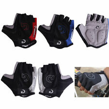 Unisex Cycling Gloves Bicycle Motorcycle Sport Half Finger Gloves S- XL Size TQ