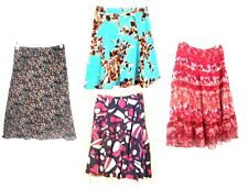 Sz Small 6-8 ~ George Knee-length Floral & Geometric Print A-Line Skirts