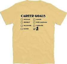 CAREER GOALS, CAREER GOALS, CYCLIST, ROAD BIKE T-Shirt S-XXXL