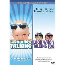 Look Who's Talking/Look Who's Talking Too (2009, 2-DVD Set) NEW SEALED FREE SHIP