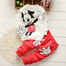 2pcs Baby Clothes for Kids Boys Infant Cute Outfits Set Girls Toddler Tops+Pants
