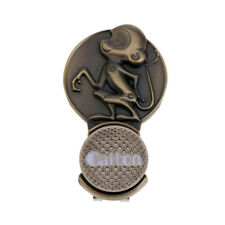 1 Piece Brass Golf Hat Clip with Ball Marker Golf Gift