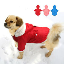 Winter Dog Coat Clothes Pet Jacket Warm Clothes Padded Apparel Hoodie Chihuahua
