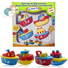 3 Bees & Me Bath Toys for Boys and Girls - Magnet Boat Set Toddlers Kids Fun...