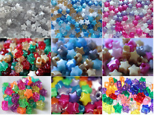 Star Pony Bead Themed Mixes 13mm Diameter - 50 Pack - Ideal For All Crafts