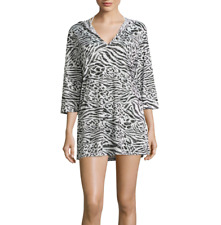 a.n.a Burnout Swim Cover-up Tunic Size S, M, L, XL New Msrp $42.00