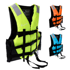 Buoyancy Aid Adult Child Life Jacket Kayak Sailing Canoe Safety Vest + Whistle