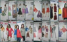 CHOOSE 1 KWIK SEW Pattern SKIRTS Skort Jacket Dress sz XS S M L XL (sz 6 - 22)