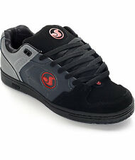 DVS Discord US Deegan Grey Black Red Havoc Militia BMX DC Skate Shoes Pk Sz