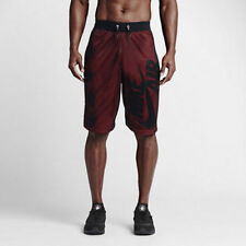 NWT NIKE Mens Air Pivot V3 Mesh Basketball Shorts Black Red $75 2XL 3XL