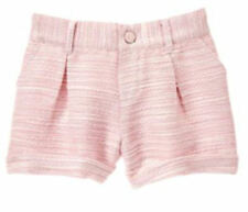 NWT Gymboree BUTTERFLY GARDEN Pink Boucle Dressy Shorts NEW FREE US SHIPPING